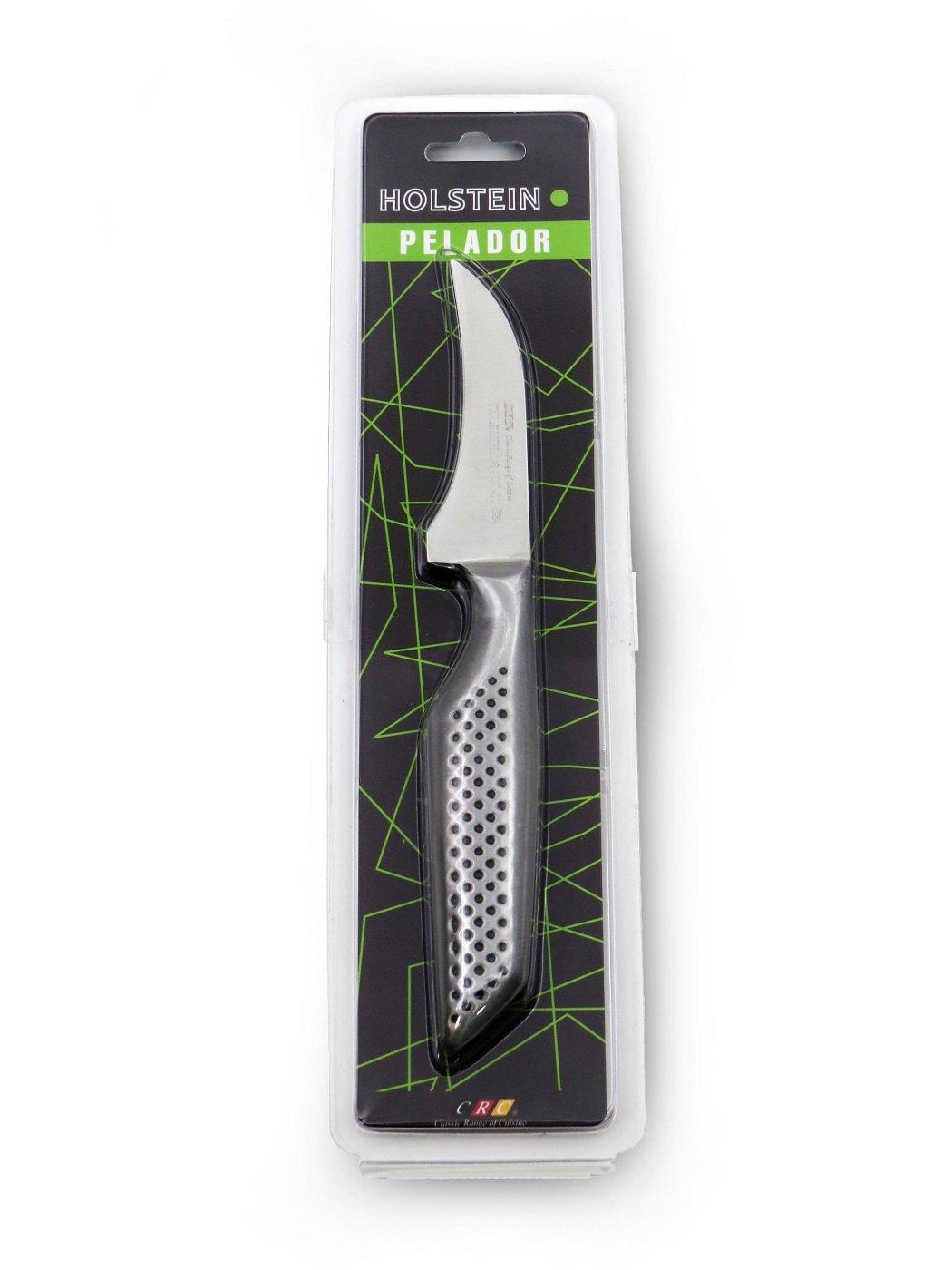 Cuchillo pelador Holstein - Acero Inoxidable - Hoja DE 80 mm ...