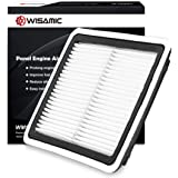 WISAMIC Engine Air Filter Compatible with Subaru: Outback(2005-2018), Forester(2009-2018), Legacy(2008-2018), wrx(2015…