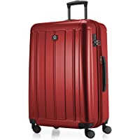 "Hauptstadtkoffer Kotti - Luggage Suitcase Hardside Spinner Trolley 28"" TSA, Glossy, Red, 75cm"