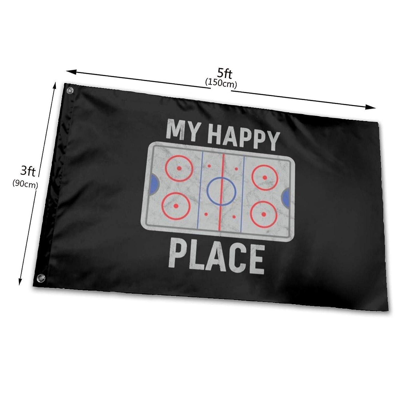 URANDM Funny Hockey Flag 3X 5 Foot American Us Outdoors Flag