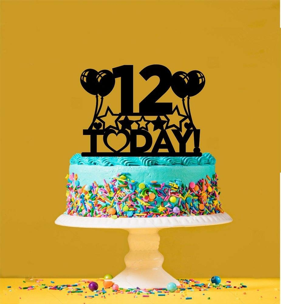 12th Birthday Cake Topper - 12 Years Old - Twelfth
