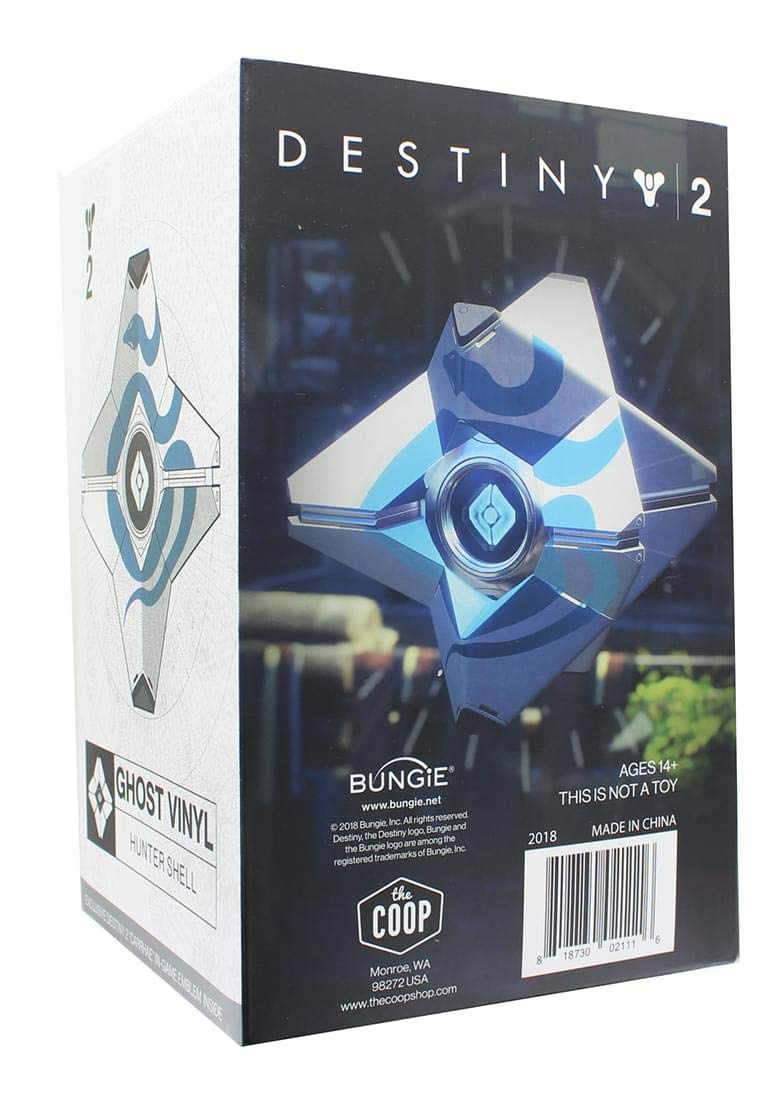 Destiny Ghost Hunter Figure W//DLC Crowded Coop