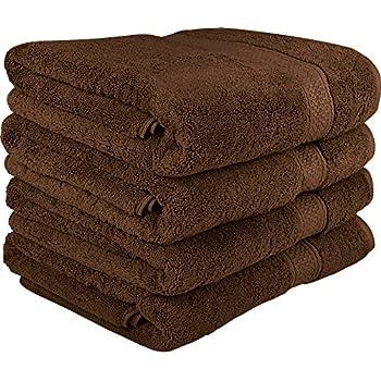Amazon.com: Utopia Towels Premium Bath Towel Set (Pack of 4, 27 x 54 ...