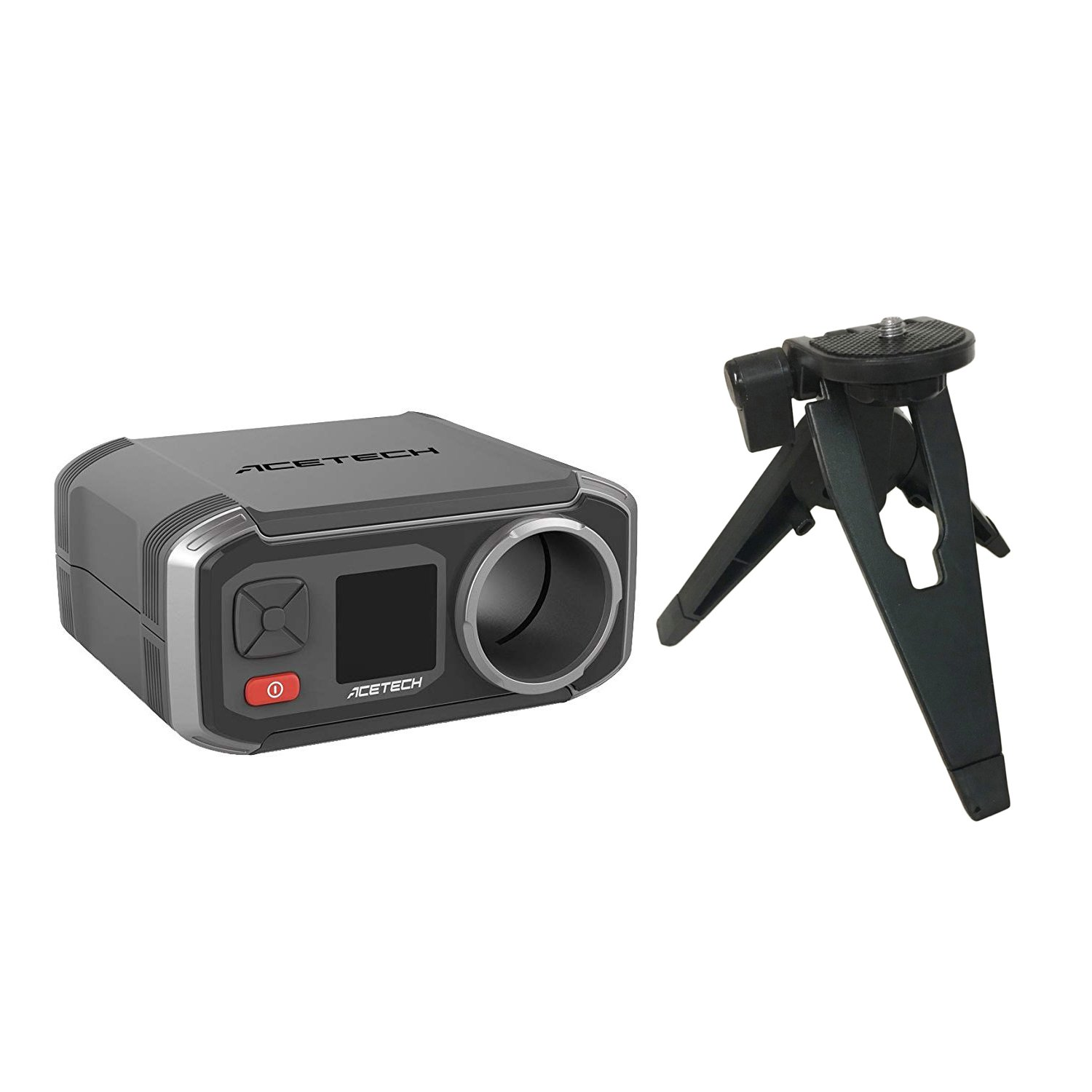Basicest Acetech AC6000 Airsoft Shooting Chronograph with a Tripod