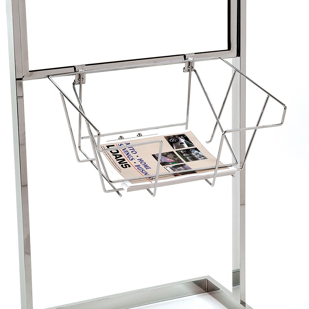 Econoco WSB2 Wire Literature Basket for Bulletin Sign Holder (Pack of 6)