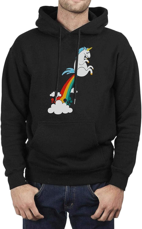 BingGuiC Mens Fleece Hoodie Bald American Flag Wool Warm Soft Winter Gift Pullover Hooded Sweatshirt