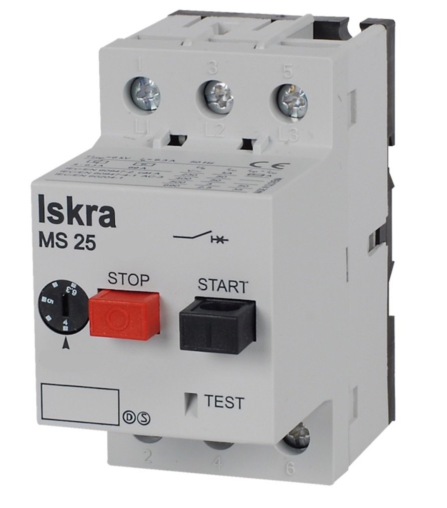 MS25-0.25 Motor Protection Switch
