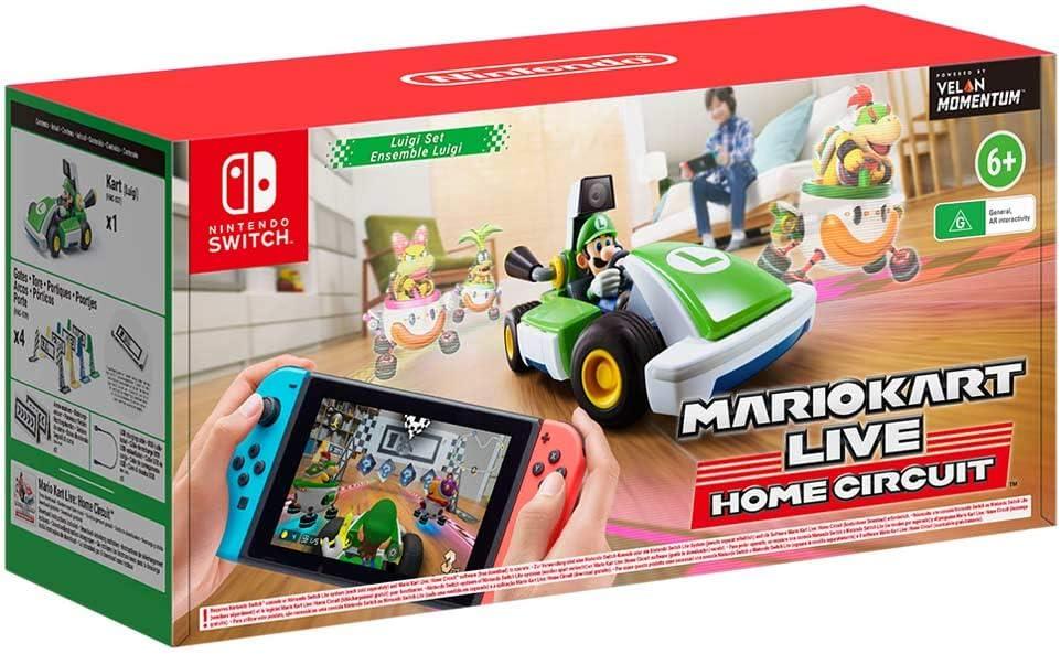 Mario Kart Live: Home Circuit (Luigi): Amazon.es: Videojuegos