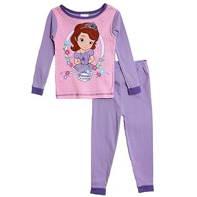 cc8a436390 Amazon.com  Disney Sofia the First Toddler Purple Pajamas (4T ...