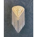 Meyda Tiffany 15107 Fabric & Fringe Pontiff Night Light - 5.5