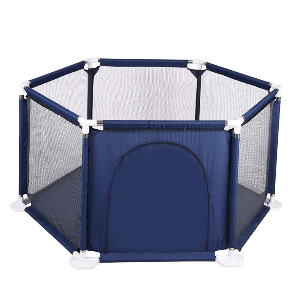 【SEAL限定商品】 ベビーサークル 青) ホーム幼児安全性高い保護ベビープレイペン、6パネル、ジッパーのドアのためのフェンスを再生する (色 ベビーサークル : 青) B07KZT7SMJ, エサシチョウ:d6d0df2f --- a0267596.xsph.ru