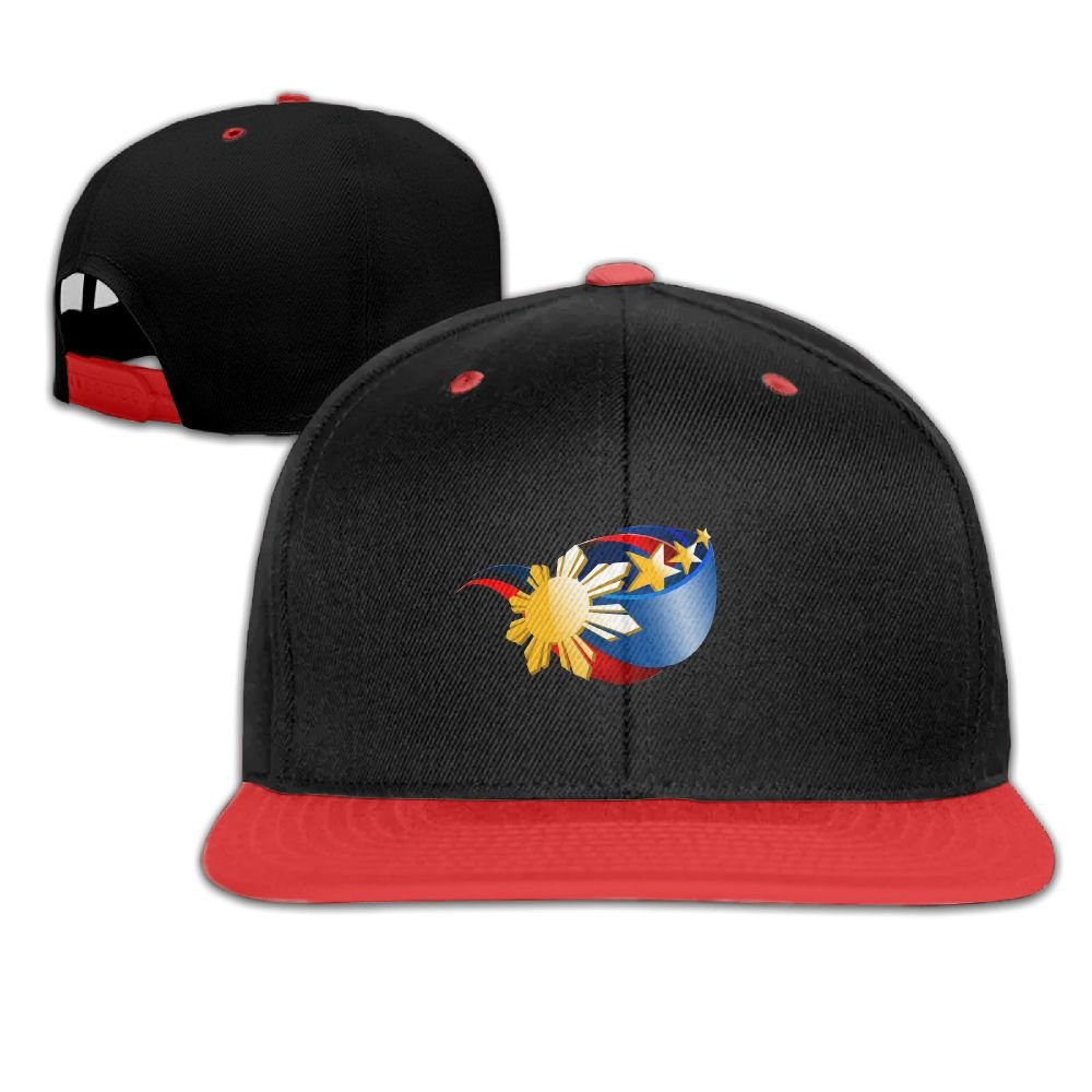 Humaoe Flag of The Philippines Fashion Peaked Baseball Caps//Hats Hip Hop Cap Hat Adjustable Snapback Hats Caps for Unisex