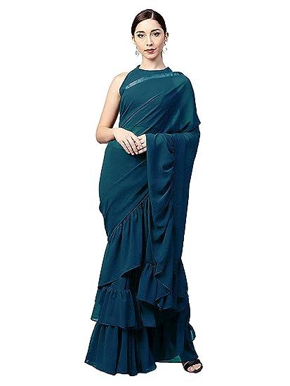 2b597ecf59 Zaima Fashion Saree For Women Party Wear Half Sarees Padmavati Silk Pallu  And Utsav Scut With ...