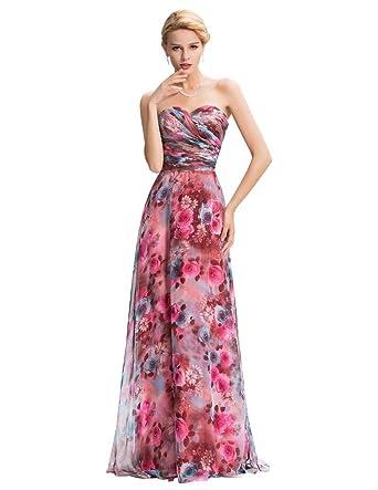 Gyjdtckr Women Long Back Elegant Prom Dresses Celebrity Night