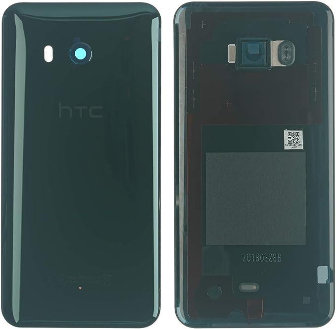 HTC U11 Tapa Trasera Carcasa – Cuenco de Cristal (Incluye Cámara ...