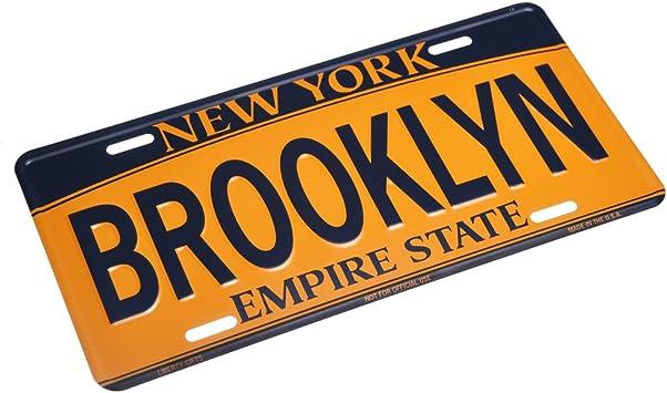 BROOKLYN NEW YORK LICENSE PLATE