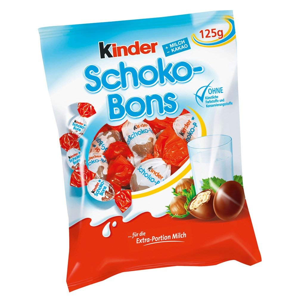 Kinder Schoco-Bons 125g - Pack of 6 by Kinder