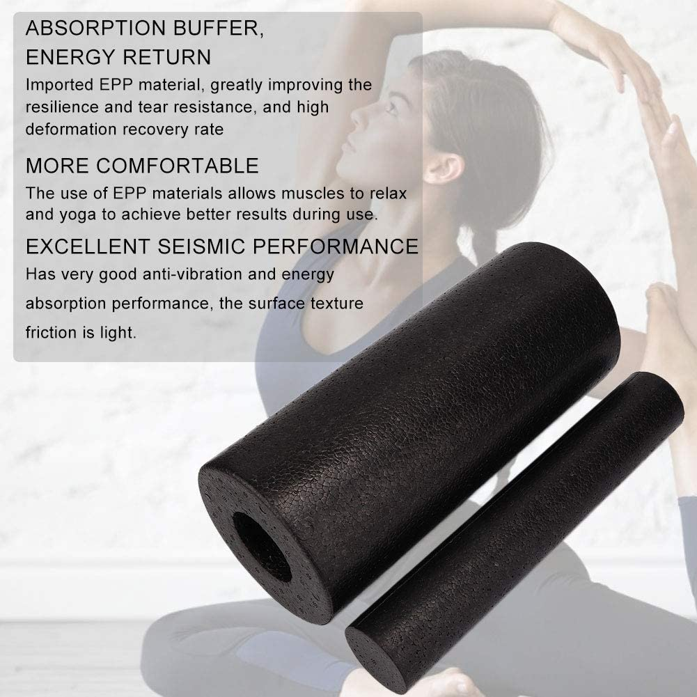 2er Roll Faszienrolle Massagerolle Set Fitness Sport Yoga Pilates Roller Set DHL