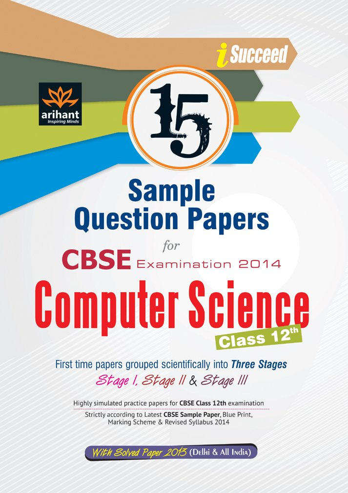 Cbse 15 sample question paper computer science for class 12th cbse 15 sample question paper computer science for class 12th amazon surbhi rastogi mini goyal books malvernweather Images