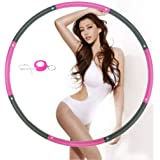 NEOWEEK Hoola Hoop for Adults,Weighted Hoola Hoop for Exercise-2lb,8 Section Detachable Design-Professional Soft Fitness Hool