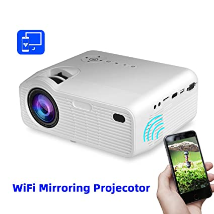 Amazon.com: Hdmi, Vga, 3500 lúmenes P40W Mini proyector ...