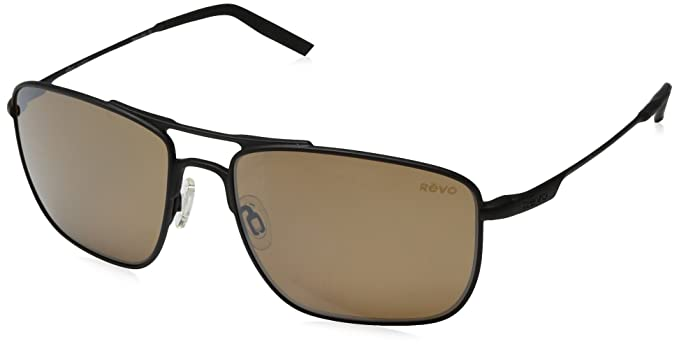 ddb61f513a7 Revo Unisex Unisex RE 3089 Groundspeed Rectangular Polarized UV Protection  Sunglasses