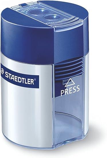 STAEDTLER 512 001 - Pack de 10 afilalápices: Amazon.es: Oficina y papelería