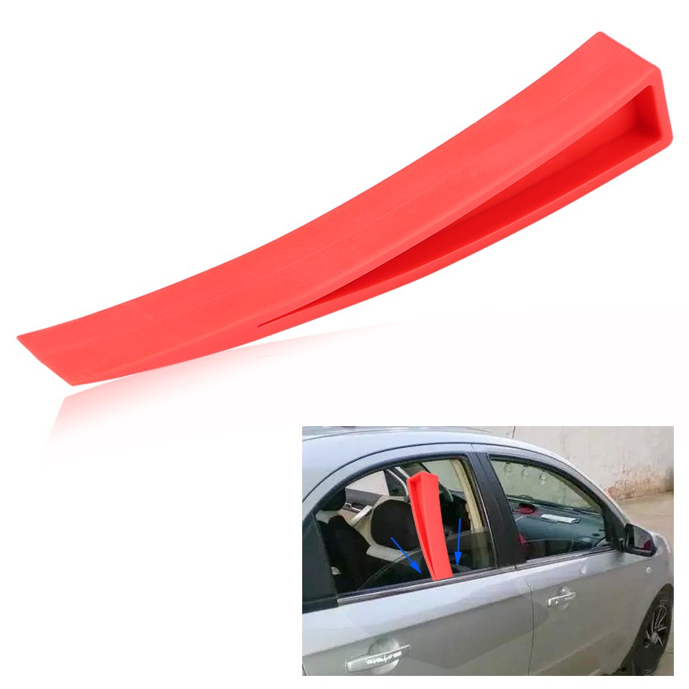 Amazon Com Keenso Red Window Wedge Plastic Car Door Wedge Car