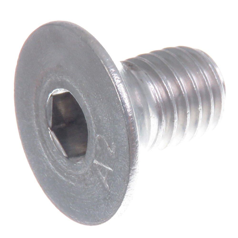 acier inoxydable V2A VA A2 /à six pans creux Vis /à t/ête frais/ée SECCARO M10 x 16 mm DIN 7991 // ISO 10642 20 pi/èces
