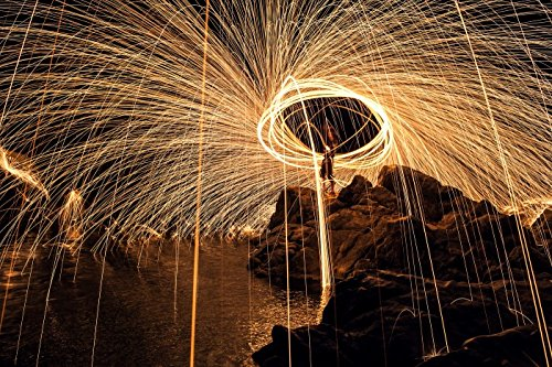 Pixco Photography Props Steel Wool Shoot Fireworks Light Painting Graffiti Set