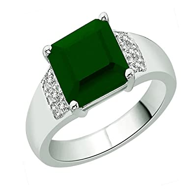 plated unique stone best brass green cubic ring finished at finger for design zirconia and rings gold yellow women