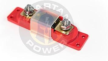 Amazon.com: Spartan Power 200 Amp ANL Fuse & Holder Kit - Made in America:  AutomotiveAmazon.com