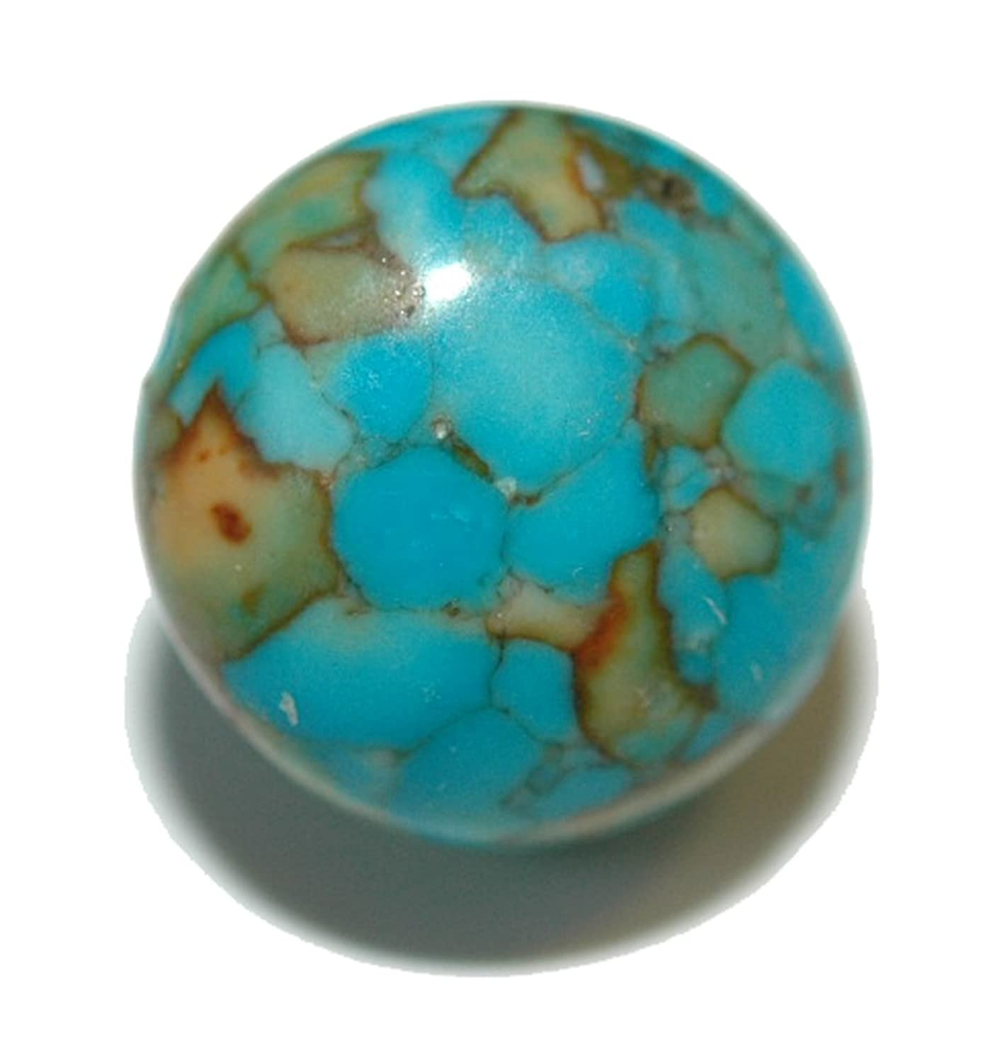 """1/2"""" Turquoise Blue Mosaic Stone Tie Pin Tack (150)"""