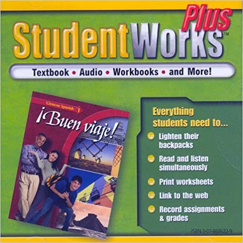 Buen viaje! Level 1, StudentWorks Plus CD-ROM (GLENCOE SPANISH ...