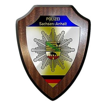wappenschild polizei sachsen anhalt wappen abzeichen magdeburg deko bro beamten emblem 23071 - Polizei Sachsen Anhalt Bewerbung