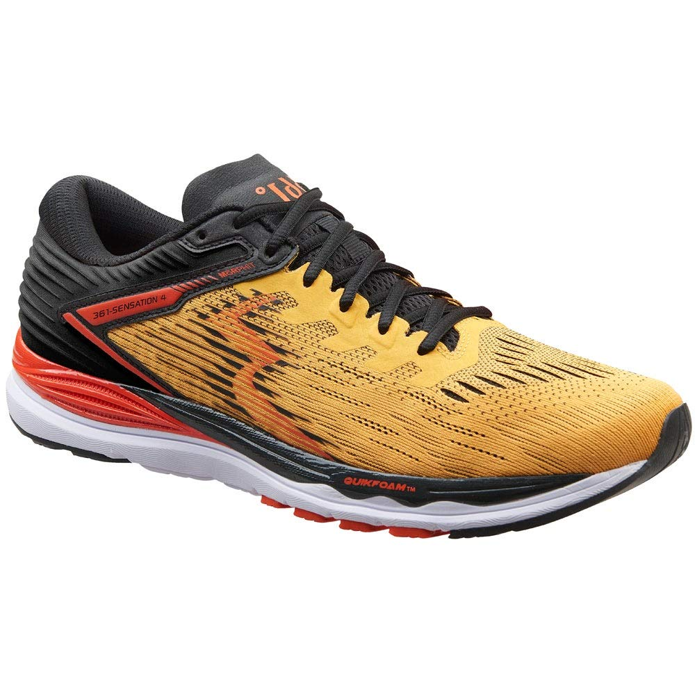 Image of 361 Degrees Mens Sensation 4 Running Casual Shoes, Road Running