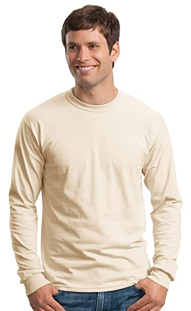cf7013e84980 Image Unavailable. Image not available for. Color: Gildan-Ultra Cotton Long  Sleeve T-Shirt-2400 ...