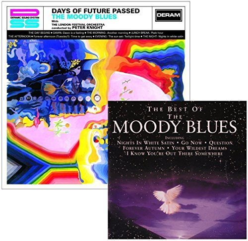 Days Of Future Passed - The Very Best Of The Moody Blues - The Moody Blues 2 CD Album Bundling (The Best Of The Moody Blues)