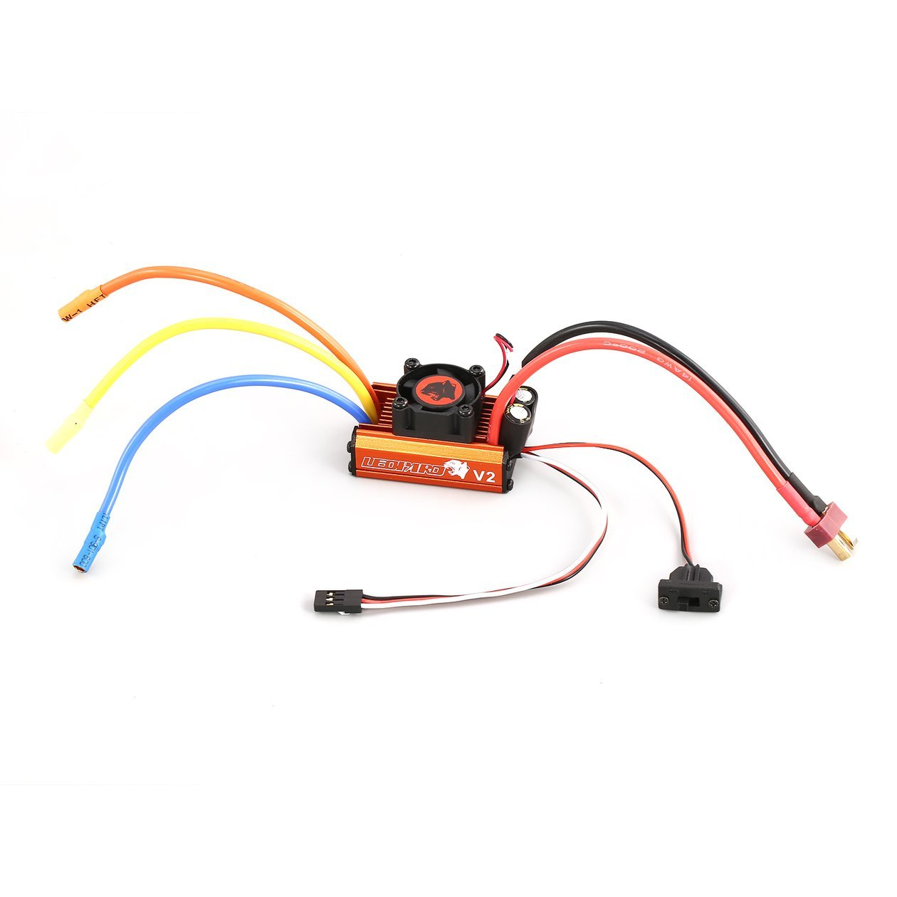 for 1/10 RC Car Truck 9T 4370KV Brushless Motor 60A Brushless ESC