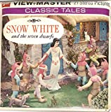 View Master Classic Snow White and the Seven Dwarfs 3d 3 Reel Packet