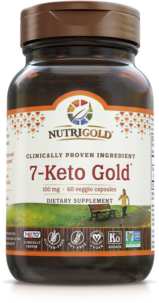 7-keto gold bottle