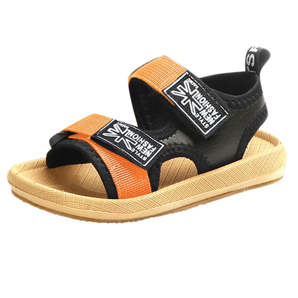 01e4d48a6 Amazon.com: Best 2019 Summer Sandals,Kids Toddler Baby Breathable Beach  Sandals Patchwork Anti-slip Athletic CasualSneaker Flat Single Shoes ...