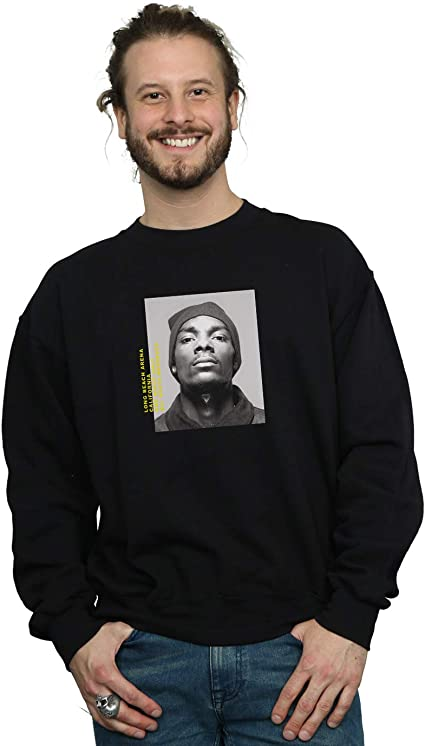 Absolute Cult Snoop Dogg Homme Original Photo Sweat Shirt