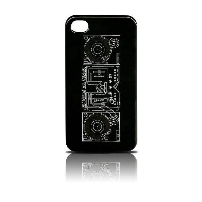 Tribeca Mtv y funda rígida para iphone 4/4S - Tocadiscos: Amazon ...