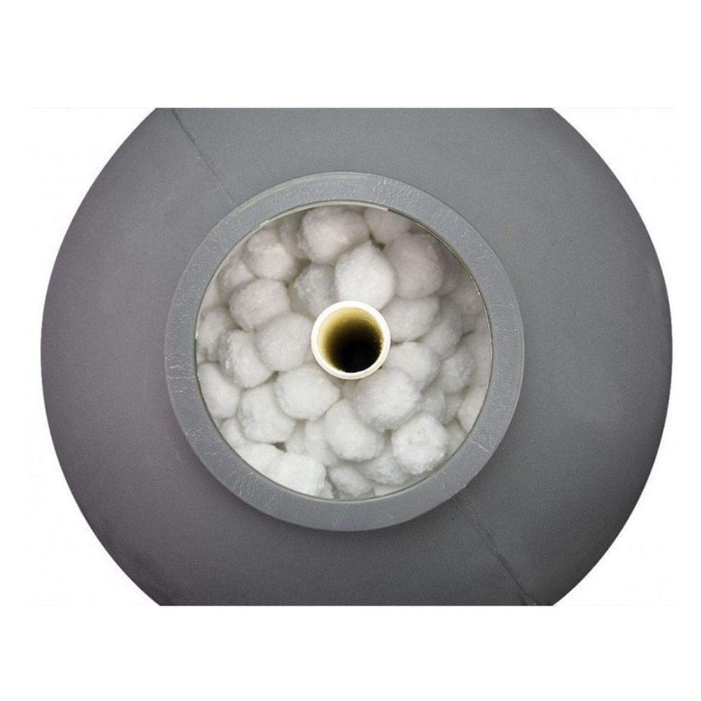 Assiduousic Filter Media Clear White Luster Eco-Friendly Filter Media for Swimming Pool Sand Filters Alternative to Sand and Filter Glass Perfect Bio Balls for Aquarium and Pond Filter Media by Assiduousic (Image #6)