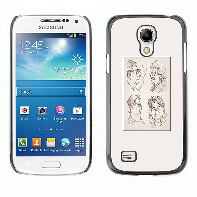 TaiTech/Duro Carcasa Funda - Póster de dibujo - Samsung ...
