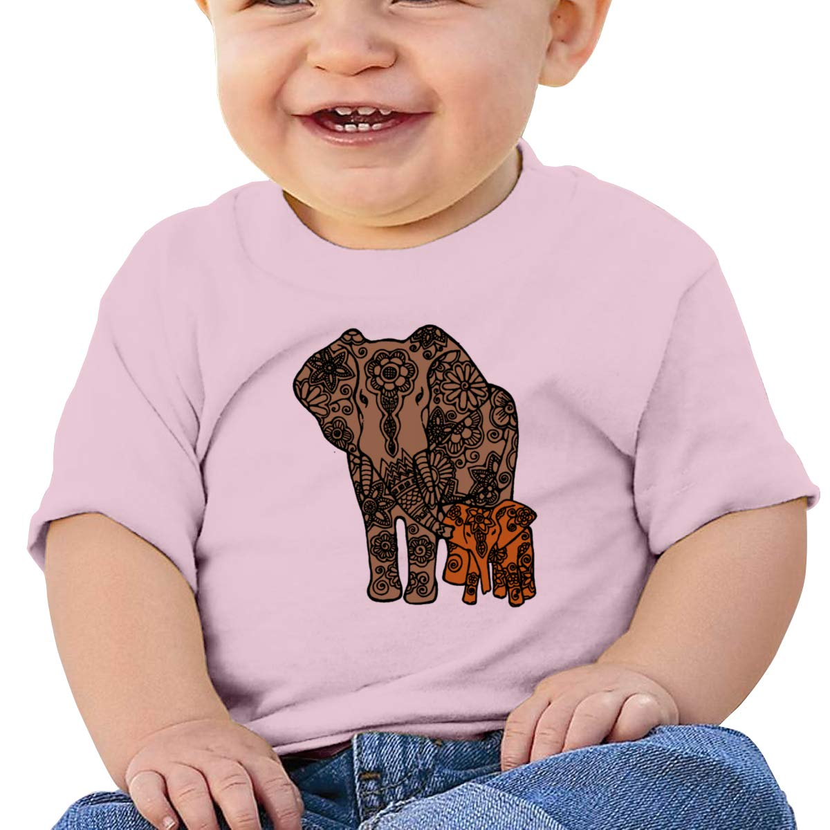 Elephant Family Short-Sleeve Tshirt Baby Boy Kids