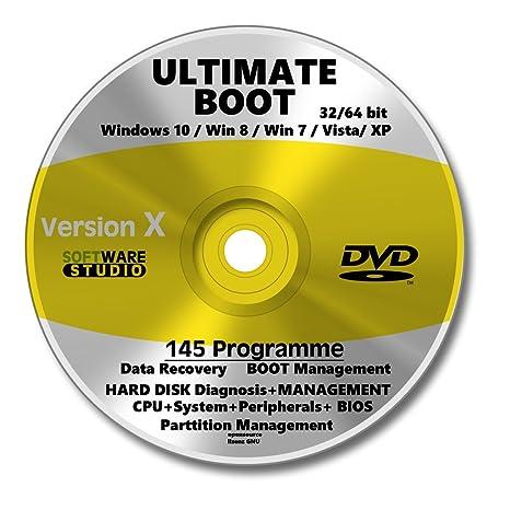 Notfall CD DVD, System Rescue, Computer reparieren, System  wiederherstellen, Datenrettung, Hilfe e999649672