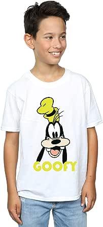 Disney niños Goofy Face Camiseta