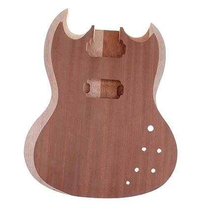 Sharplace Cuerpo Guitarra Eléctrica DIY Fender Accesorios Instrumneto de Musica Fácil de Usar Cómodo